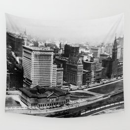 Michigan Avenue in Chicago (1911)  Wall Tapestry