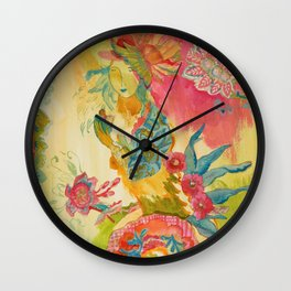 Cantalily Shells by Kimberly Hodges Wall Clock
