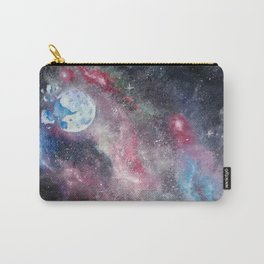 Space and the Moon Carry-All Pouch