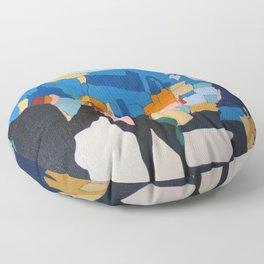 The Crossing Floor Pillow