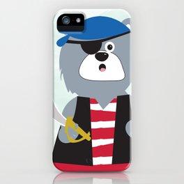 Pirate Bear iPhone Case