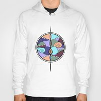 compass Hoodies featuring Compass by DebS Digs Photo Art