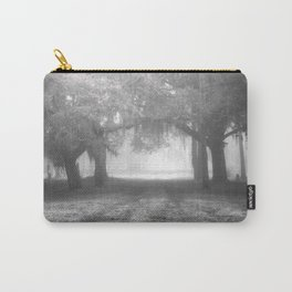 Foggy Evergreen Carry-All Pouch