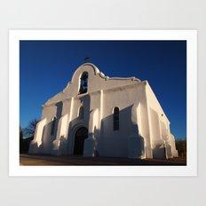 San Elizario Presidio Church, El Paso Art Print