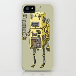 Coffee Robot iPhone Case