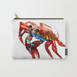 Crab, Sea World Crab Artwork Carry-All Pouch