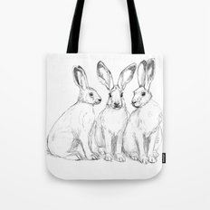Three Hares sk131 Tote Bag