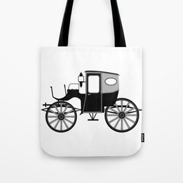 Old Style Carriage Tote Bag