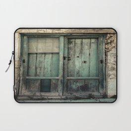 Old Green Door Laptop Sleeve