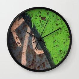 Rustin' piece Wall Clock