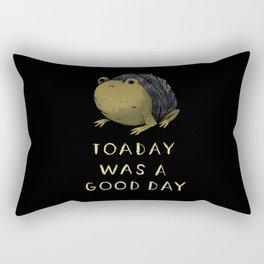 toaday was a good day Rectangular Pillow