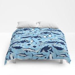 Marine Life Pattern Comforters