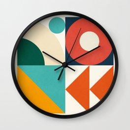 Roud Flow No. 9 Wall Clock