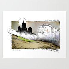 PICNIC AT HANGING ROCK Art Print