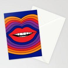 Pop Lips Stationery Cards