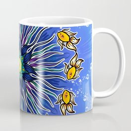 Mandala fishes Coffee Mug