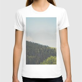 above the tree line ... T-shirt