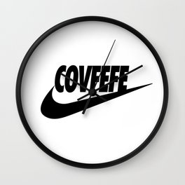Covfefe [BLACK] Wall Clock