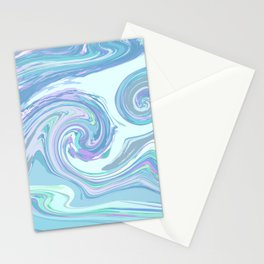 LIGHT BLUE MIX Stationery Cards