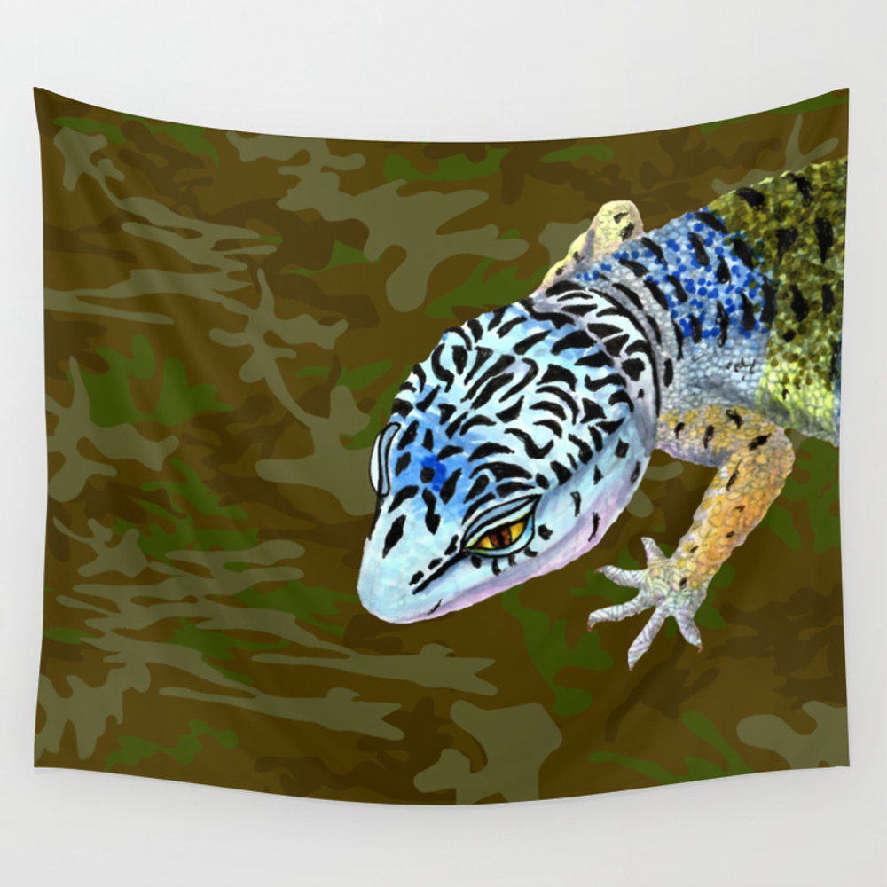 Little Lizzy Wall Tapestry by Lindamcmillen TPS4085197