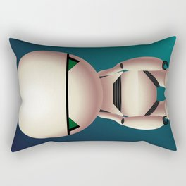 Marvin the Paranoid Android Rectangular Pillow