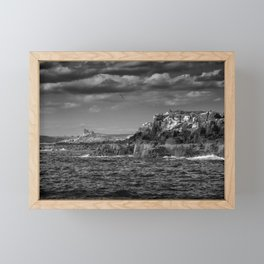 headland Framed Mini Art Print