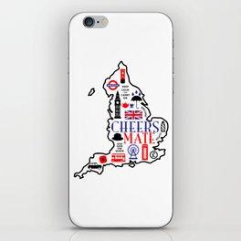 England Love iPhone Skin