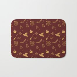 Gryffindor Pattern Bath Mat