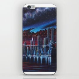 New York: The Day Before 9/11 iPhone Skin