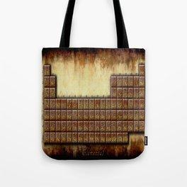 A Steampunk Periodic Table Tote Bag
