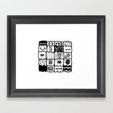 I am a pattern, pattern Framed Art Print