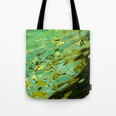 water reflection abstract Tote Bag