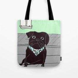 Jasper, The Bandana Bandit. Tote Bag