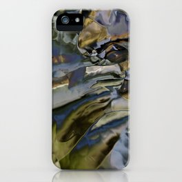 The ground is made of glass iPhone Case