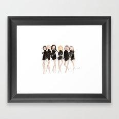 Supermodels Framed Art Print