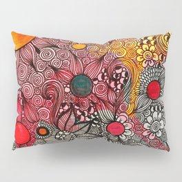 Full Page Doodling Pattern  Pillow Sham