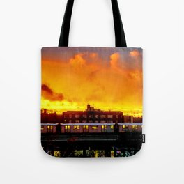 Bronx Sunset Tote Bag