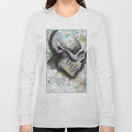 ALBANY, NEW YORK Long Sleeve T-shirt