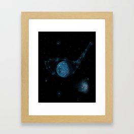 Game of God Framed Art Print