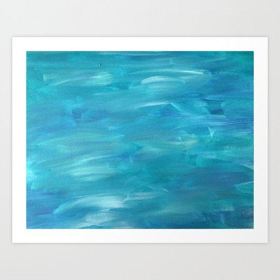 Curious Currents Art Print