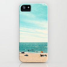 Portrait of a Beach iPhone (5, 5s) Slim Case