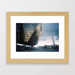 Wales Millenium Centre, Cardiff Framed Art Print