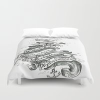 chelsea Duvet Covers featuring Chelsea Smile by Becca Douglas