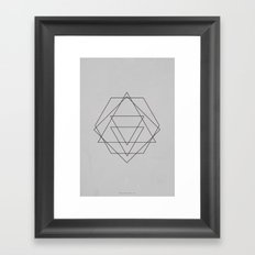 Geometric No.2 Framed Art Print