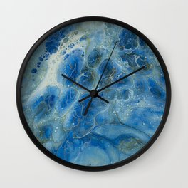 Power Of The Ocean Wall Clock