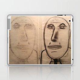 mirror of charcoal Laptop & iPad Skin