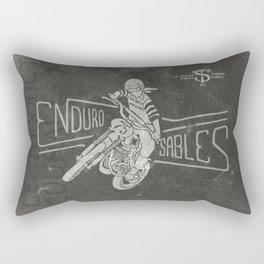 Enduro des Sables Rectangular Pillow