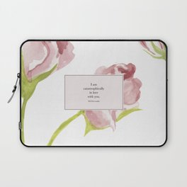 I am catastrophically in love with you. Will Herondale. Clockwork Princess. Laptop Sleeve