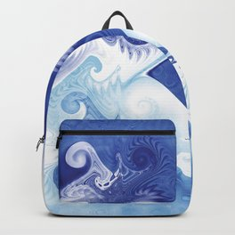 Fractal Ocean Backpack