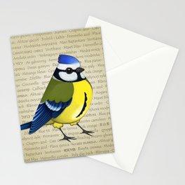 Pretty cyanistes Stationery Cards